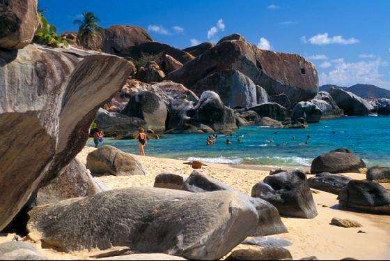 baths virgin gorda bvi british virgin islands
